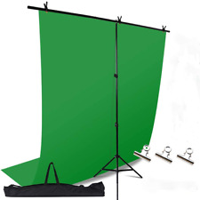 Green Screen Photography Backdrop With Stand Support Kit For Photoshoot  Video