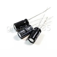 US Stock 50pcs Electrolytic Capacitors 470uF 470mfd 10V +105℃ Radial 6 x 12mm