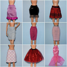 Assorted Pink, Black, Red, Blue, White, Glitter, Mesh, Lace Skirt Genuine BARBIE
