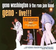 GENO & THE RAM JAM BAND WASHINGTON - LIVE !!! THE HIT ALBUMS  3 CD NEUF