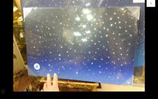 Pannello Luminoso Cielo Stelle Cm40x60x2,5 Effetto Stelle Fibra Ottica Presepe