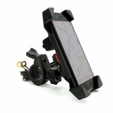 Motorcycle Handlebar Phone Mount Holder W/ USB Charger - Cell & GPS 7/8