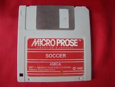 SOCCER MICRO PROSE Simulation Software AMIGA 1989 DISKETTE