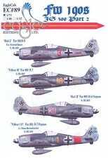 EagleCals Decals 1/72 FOCKE WULF Fw-190 Fighter JG 300 Part 2