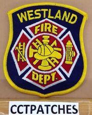 WESTLAND, MICHIGAN FIRE DEPARTMENT PATCH MI