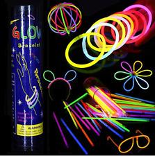 10pcs PartySticks Glow Sticks Glasses Premium Glow In The Dark Light Sticks Gift