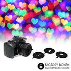 Universal Kit of Shapes Bokeh for lens 50mm, 52mm filter thread.