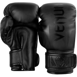 Venum Challenger 2.0 Kids Training Boxing Gloves - Black/Black