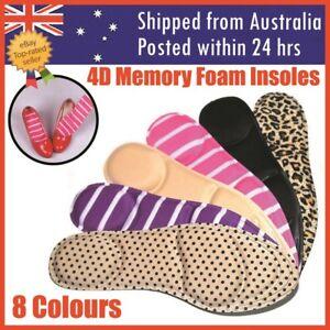 Memory Foam 4D Insoles Shoe Comfort Soles Shoe Pads Pad Cut Insoles Orthopaedic