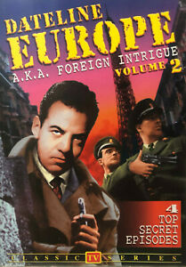 Dateline Europe DVD Volume 2 Foreign Intrigue - Jerome Thor - Black & White