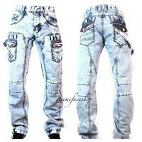 peviani Kampf gebleicht Jeans, Mens G True Denim Urban Time Is Money HipHop