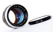 Canon 50mm 1.2 TELEMETRO Obiettivo L39 LTM - 1950s-OTTIMO!