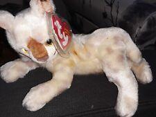Ty Beanie Baby: 2001 Tracks: Brown Fur Ears Lynx