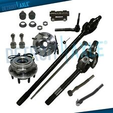 13pc Front U-Joint Axle Shafts Kit for 05-10 Ford F-250 F-350 4WD Dana 60; SRW