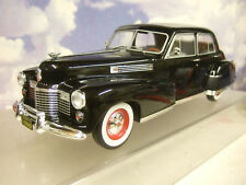 SUPERB MCG 1/18 DIECAST 1941 CADILLAC FLEETWOOD SERIES 60 SPECIAL SEDAN BLACK