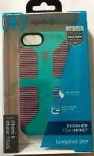 Speck CandyShell Grip Case -Caribbean Blue/Bubblegum Pink for iPhone 6/7/8 #B946