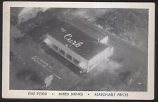 Postcard Baltimore Maryland/Md The Curb Restaurant Bird's Eye Aerial view 1940's