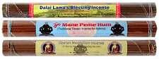 Räucherstäbchen 3er Set Dalai Lama - Meditation - Om mani Incense