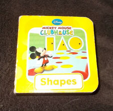 Disney Mickey Mouse Clubhouse Shapes Book - Used