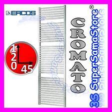 3S NUOVO SCALDASALVIETTE TERMOARREDO ERCOS CROMATO RADIATORE BAGNO H 120 x L 45