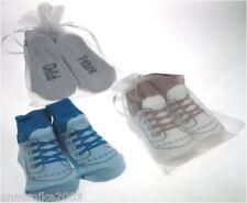 BNWT baby boys cute lace up look socks sizes 6-12 mths