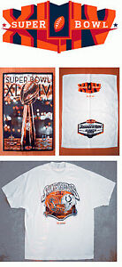 NFL Super Bowl XLIV 44 Saints vs Colts Shirt, Towel Or Game Program