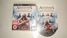 JEU SONY PLAYSTATION 3 PS3 ASSASSIN'S CREED BROTHERHOOD COMPLET