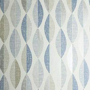 Arthouse Aziza Geo Blue 907506 Wallpaper