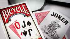 RED Bicycle LARGE PRINT JUMBO INDEX Deck of Playing Cards Poker air vision blind