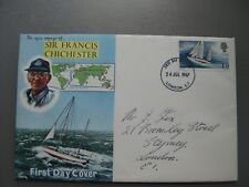 Sir Francis Chichester First Day Cover. 24th July 1967.LONDON EI
