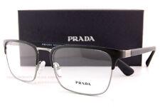 Brand New Prada Eyeglass Frames 54TV 1BO Black Matte  For Men