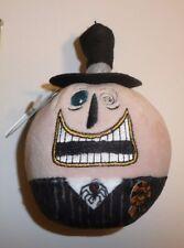 Mayor The Nightmare Before Christmas Hallmark Fluffball Halloween Plush Ornament