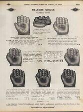 1910 ADVERT Diamond Brand Baseball Glove Nap Napoleon Lajoie Cleveland Indians