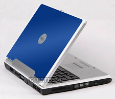 BLUE Vinyl Lid Skin Cover Decal fits Dell Inspiron 1501 E1505 6400 Laptop