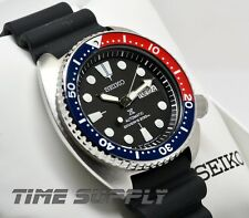 New Seiko SRP779 Prospex X Automatic Rubber Strap Pepsi 200M Diver's Men's Watch