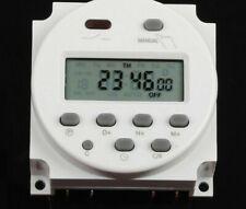 Digital Programmable Timer Switch Minimal 16 Inch Panel Mount Ac220v Single Lcd