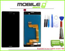Ecran LCD + Vitre Tactile pour SONY M4 Aqua et E2203 Noir + outils + Colle
