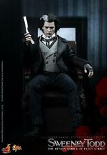 "HOT TOYS Sweeney Todd Demon Barber of Fleet Street Johnny Depp 12"" Figure"