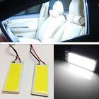 2Pc White Xenon HID 36 COB LED Dome Map Light Bulb Car Interior Panel Lamp 12V