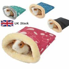 Cama blanda cálida conejillo de indias para mascotas casa de animales pequeños hámster Rata Bolsa De Dormir Cama