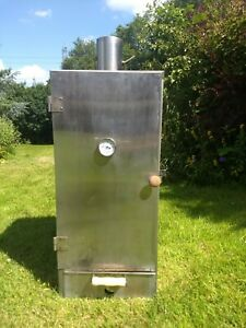 Professional Stainless Steel Insulated Upright Cabinet Hot Smoker
