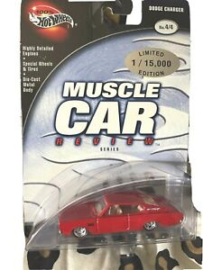 Hot Wheels Red Dodge Charger LE Muscle Car Review Series Diecast 2002
