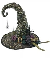 "Katherine's Collection Spellbound Witch Hat NEW 20"" Table Display Halloween"