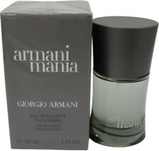Armani Mania by Giorgio Armani for Men Edt 1.0 Oz 30Ml Spray New In Box