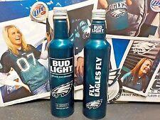 Bud Light # 503079 Philadelphia Eagles aluminum bottle 2017