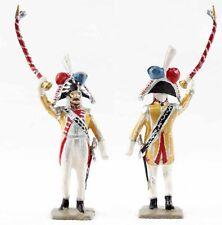 VERTUNNI Figurine TAMBOUR MAJOR jaune / antique toy soldier