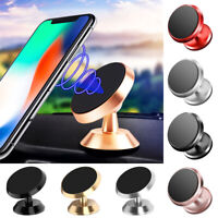Universal 360° Magnetic Car Phone Mount Holder Stand Dashboard For iPhone GPS