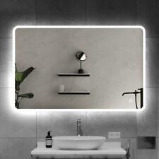 800x600mm Illuminated LED Bathroom Mirror [IP44] with Bluetooth Speaker