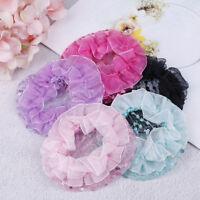 1Pc Cute girl bun mesh for hair for baby bun net bun cover accessories JR