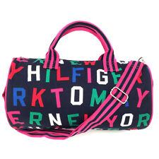 NEW Genuine TOMMY HILFIGER Mini Small Canvas Duffle Duffel Bag (350mm x 200mm)
